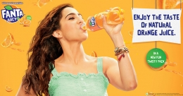 Sara Ali Khan to promote Fanta's new Juicy+ variant