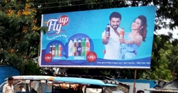 Fly Up heats up OOH in WB with 'Karle chill' campaign