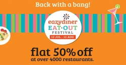 EazyDiner to roll out EatOut festival campaign