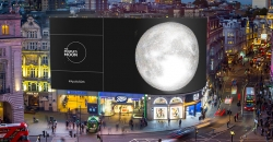 The People's Moon to rise on Piccadilly Lights