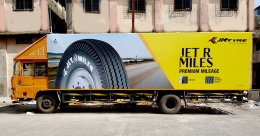 JK Tyre & Industries goes a long way with truck branding