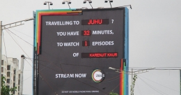 ZEE5's dynamic billboard engages commuters