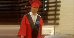 Yogesh Lakhani conferred with doctorate degree