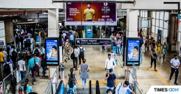 Times OOH adds new media options at Mumbai Metro