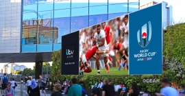 Ocean Outdoor to beam Rugby World Cup action in pact with ITV Sport