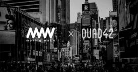 Moving Walls acquires digital signage platform Quad42 Media