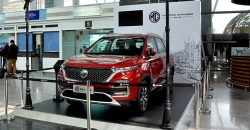 MG Hector makes maiden appearance at BIAL