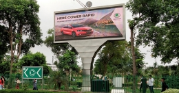 SKODA India attracts attention with Programmatic OOH