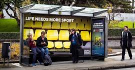 oOh! turning NZ bqs into immersive mini sports arenas