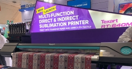 Roland launches digital direct printing on textile Printer