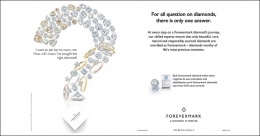 Forevermark announces yet another big campaign #TRUSTFOREVERMARK