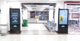 Digital OOH takes off at Patna Airport
