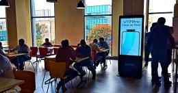 Vivo Smartphone taps urban audience with pDOOH