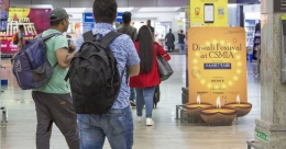 Brands celebrate Diwali across Mumbai Airport