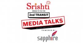 Srishti is Lead Sponsor of 2nd Transit Media Talks to be held in Mumbai on Feb 6, 2020