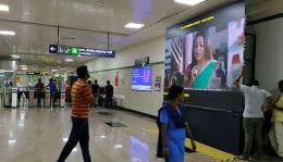 Mark Metro to introduce DOOH media at Chennai Metro stations before Pongal