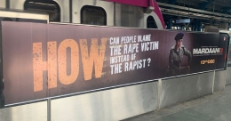 Mardaani 2 makes bold statement using transit media