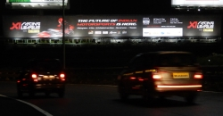 X1 launched high-blitz OOH campaign to announce inaugural season