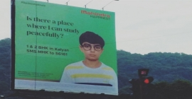Mahindra Happinest integrated campaign including OOH attracts positive outcome