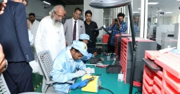 Osel Technology installs 1st LED Manufacturing unit in India