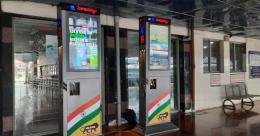 Nexyite installs interactive DOOH media at Visakhapatnam Rly Station