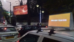AtoZ's NY party call-out with cab-top media