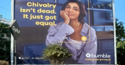 Bumble changes the rules of dating with OOH splash