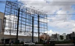 BBMP calls for removal of hoardings metal frames in 15 days