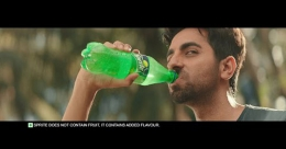 Sprite is back with new lightered heart campaign