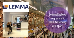 TIMDAA & Lemma partner to enable pDOOH at Delhi airport media
