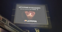Lemma displays solidarity on digital media