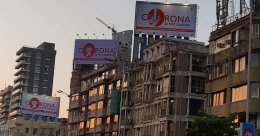 1-month fee relief for Mumbai hoarding owners