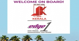 JK Ads implements Edge1 Outdoor Advertising Software