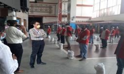 Srishti Group undertakes CSR activity at Bangalore City Station