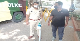 Laqshya Media Group continues to safeguard Police personnel in Mumbai