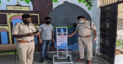 Ashirvad Pipes distributes in-house designed sanitizing units to frontline warriors