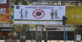 Kaushik Outdoor boosts Corona Warriors morale with gratitude