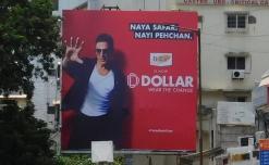 Dollar Industries enhances new identity through wide-spread OOH campaign