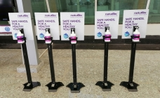Naturals installs hand sanitising units across Coimbatore and Trichy airports