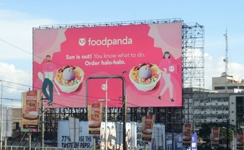 Foodpanda Philippines uses traffic, weather signals to run contextual DOOH programmatic campaign
