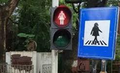 BMC promotes gender equality through traffic signals