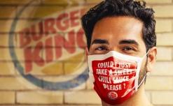 Burger King turns mask into an branding tool