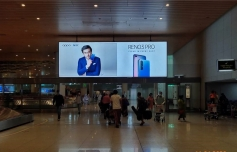 Runway restart maintains faith of brands in airport advertising
