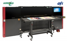 Arrow Digital Installs EFI Pro 16h – 1.6 meter, Mid-Level Production Printer with the power of LED & White