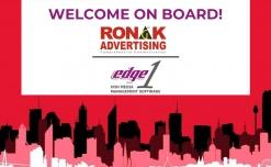 Ronak Advertising onboards Edge1 Outdoor Advertising Software