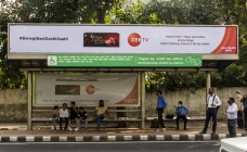 Delhi market gets 'alive' with new campaigns displays