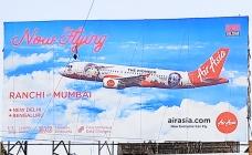 AirAsia India announces its new route through OOH campaign