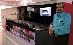 VGA Digital Printers installs Arrow's EFI Pro 32r+ Roll to Roll LED UV inkjet printer