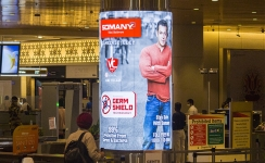 Somany Ceramics promotes new germ shield tiles at T2 Mumbai airport
