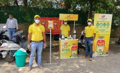 Dabur serves 'Kaada' to police personnel as immunity booster